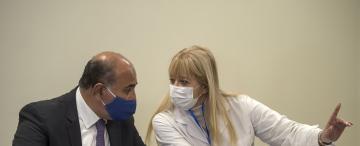 Otra Gandur vacunada que Manzur sacó de Tucumán