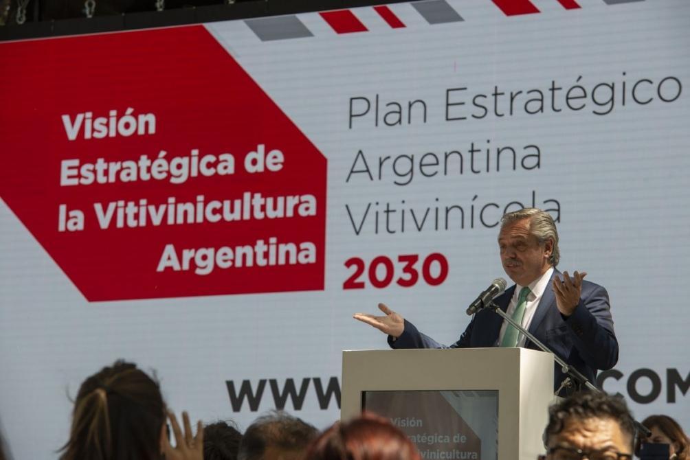 Alberto Fernández visita Mendoza por la Fiesta de la Vendimia