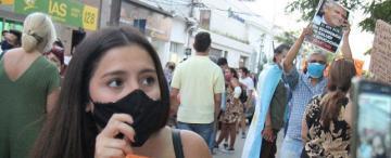"""Represión en Formosa: """"me sentí como una desaparecida: tuve mucho miedo"""""""