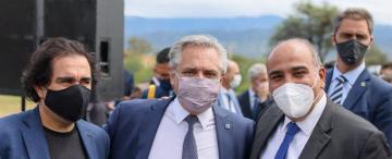 """Manzur reunió al titular de su bloque """"leal"""" con el Presidente"""