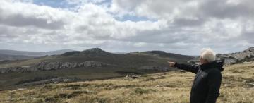Héroe tucumano pisó por primera vez Malvinas luego de 37 años de la guerra