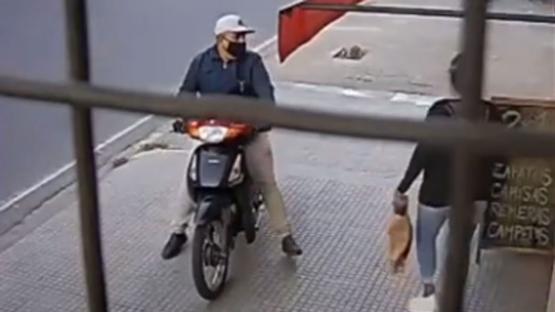 Atraparon a uno de los asaltantes del local de ropas del microcentro