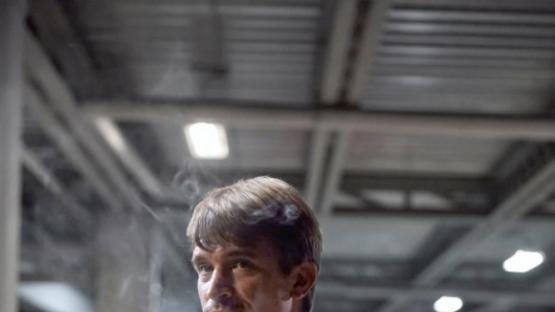 Juan Ignacio Cane, como Joe, uno de los asistentes en la serie de Luis Miguel