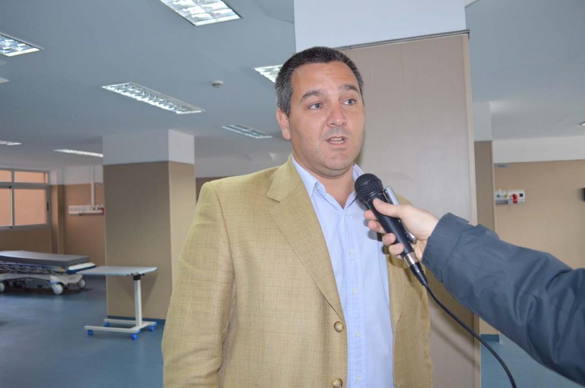 ALBERTO COLOMBRES GARMENDIA. Ex legislador y referente del PRO en Tucumán. Foto: Prensa Salud Pública