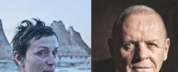 Anthony Hopkins y Frances McDormand: el Oscar a la excelencia