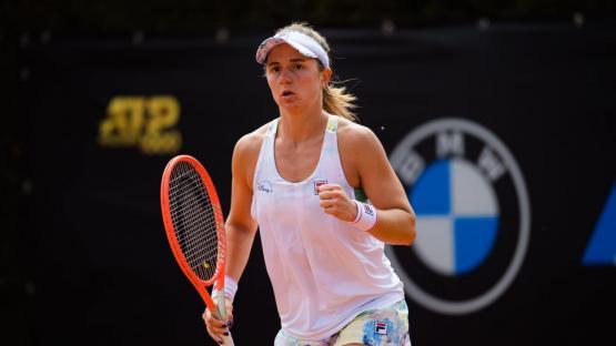 Distinta suerte en Roma: Podoroska va por Serena
