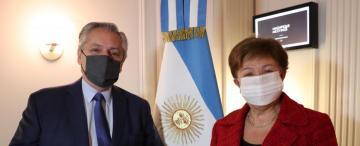 """Gira presidencial: califican la reunión con el FMI como """"constructiva"""""""