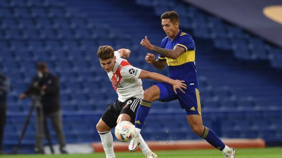 Boca y River definen al semifinalista desde el punto de penal