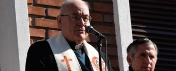 Duelo municipal en Concepción tras la muerte del obispo Melitón Chávez