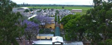 El espacio para los fallecidos por Covid está por saturarse en el cementerio de Aguilares