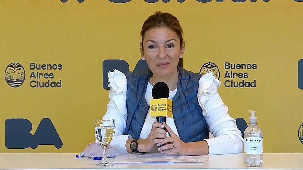 Soledad Acuña ministra de Educación de la Ciudad de Buenos Aires