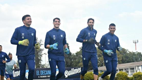 Atlético: el arco está bien custodiado