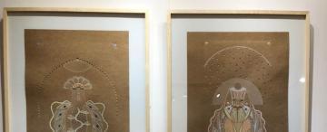 Guillermo Rodríguez crea esculturas como un ritual