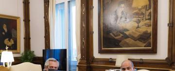 Reunión en la Casa Rosada: tres horas de almuerzo en la cuenta regresiva para las listas