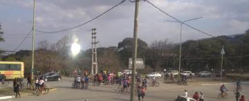 La avenida Perón se cobró la vida de un ciclista
