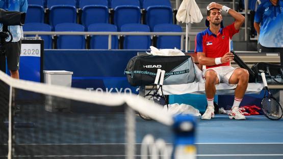 Djokovic perdió en semifinales ante Zverev y le dijo adiós al sueño del