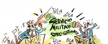 """Servicio militar obligatorio para los """"ni ni"""""""