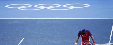 Día 9: Djokovic llegó como una estrella y se va estrellado