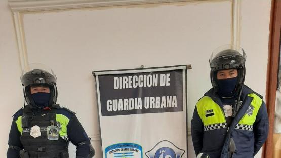 Tras una persecución, efectivos de la guardia urbana secuestraron una moto que había sido robada