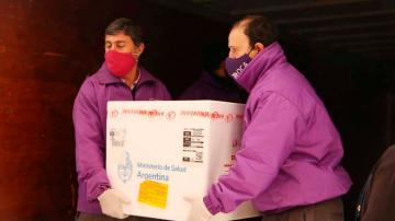 Tucumán recibió 36.000 dosis de AstraZeneca