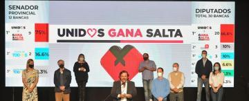 """Sáenz celebró y negó la existencia de la """"grieta"""" en Salta"""