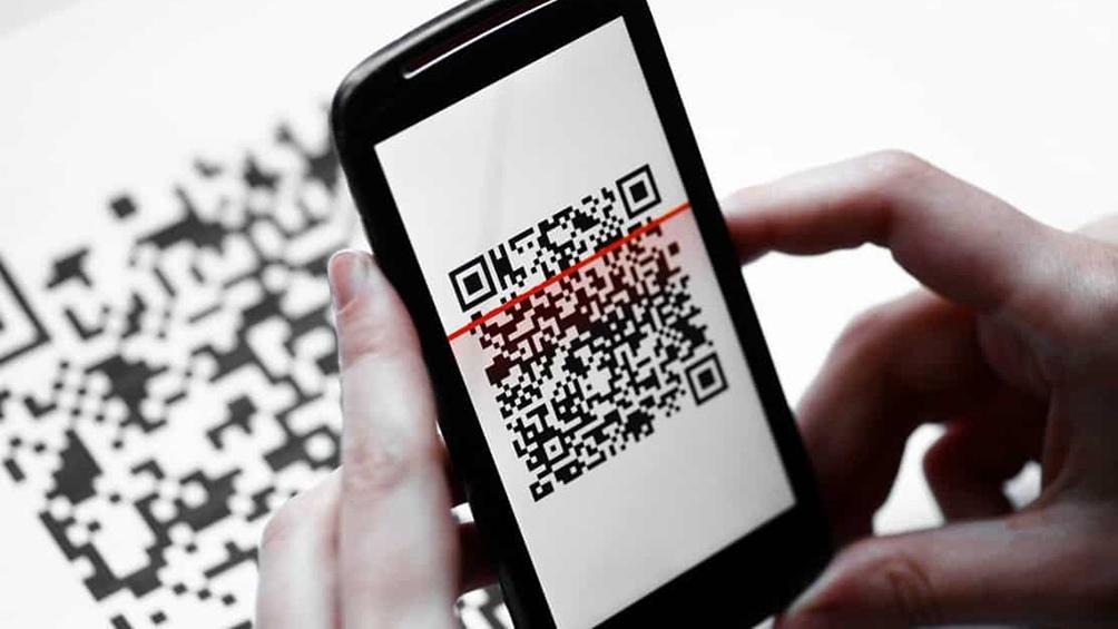 Se crea un código QR para simplificar el pago por transferencia