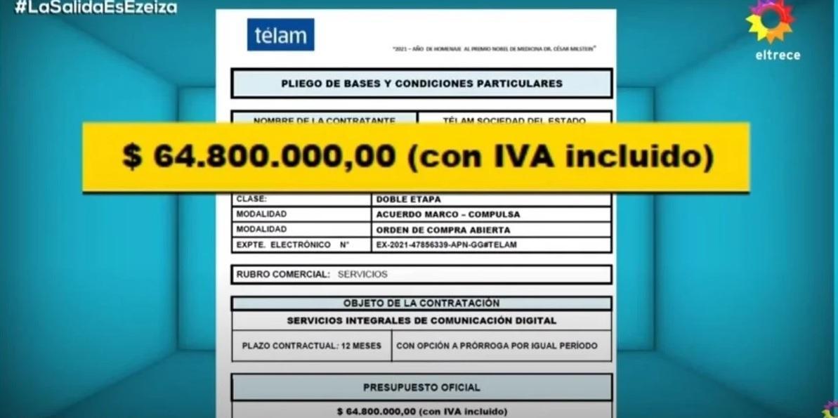 ppt revelo contratos millonarios para destape sitio difundio videos olivos 908856 100634