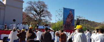 Videos: tras la lectura del decreto del Papa, fray Mamerto Esquiú ya es beato
