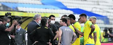 El partido Brasil-Argentina que no fue: el poder que paró la pelota