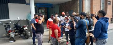 Video: punteros reclamaron dinero en la Mutualidad Provincial para pagar a los votantes