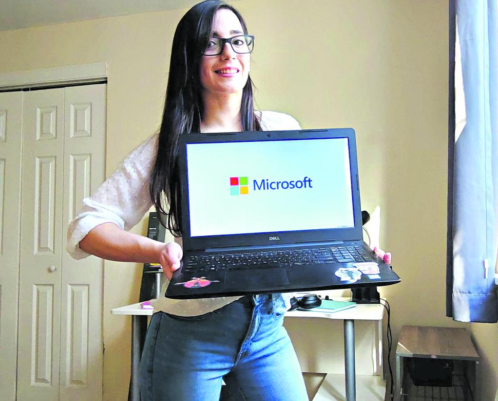 MOTIVACIÓN. A Gabriela Carrizo le inspira el trabajo de otras mujeres que tienen éxito en la industria.