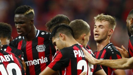 """Europa League; golazo del """"Tucu"""" Palacios"""