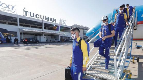 La llegada de Boca a Tucumán: pasión, alegría, y una novia