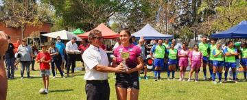 El nivel de juego crece en los equipos femeninos de rugby