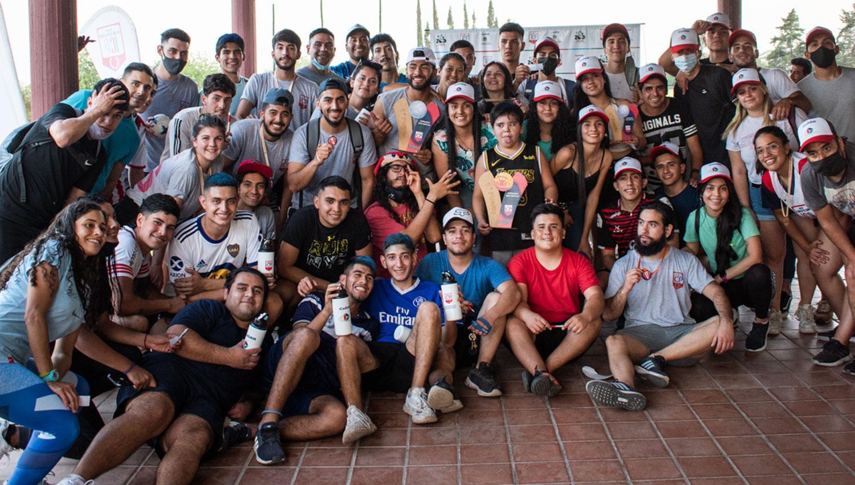 Alumnos del Profesorado en Educación Física del Instituto Pellegrini.