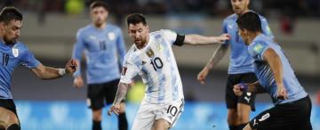 Argentina-Uruguay: al final fue un baile
