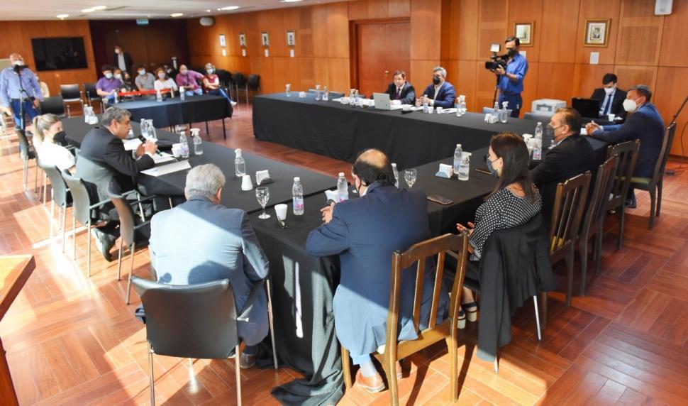 SALÓN DE LA MEMORIA. El jury se llevó a cabo en la Legislatura.