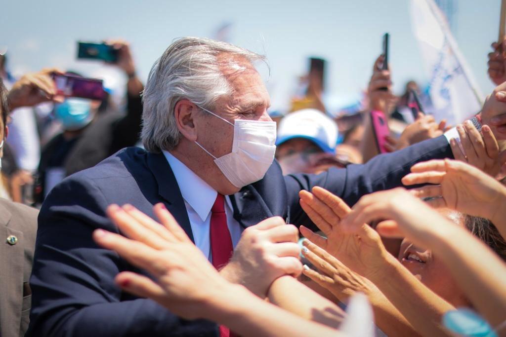 ALBERTO FERNÁNDEZ. Foto: Presidencia de la Nación