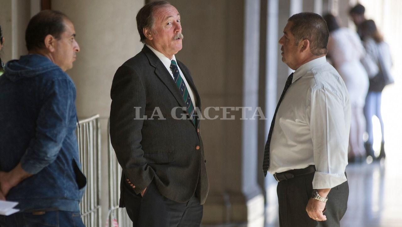 EX FUNCIONARIO. Eduardo Di Lella, durante el juicio oral y público en el que fue condenado. Foto: LA GACETA / JORGE OLMOS SGROSSO (ARCHIVO)