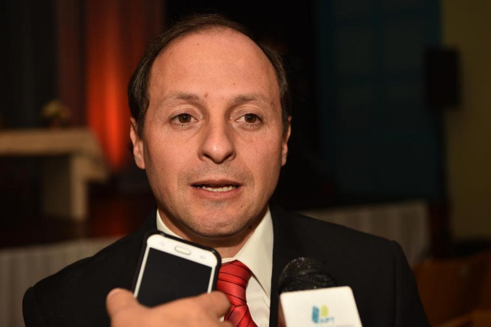 Gustavo Geria, presidente del Colegio de Abogados del Sur. Foto: Prensa MPF