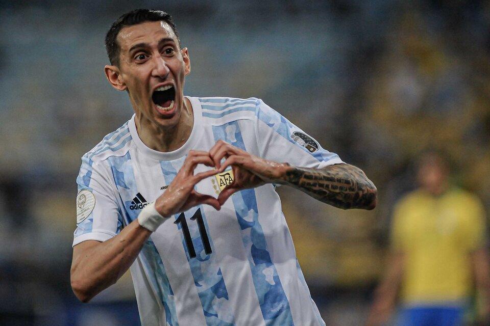 Haber ganado la Copa América es lo mejor que me pasó en mi carrera, dijo Di María