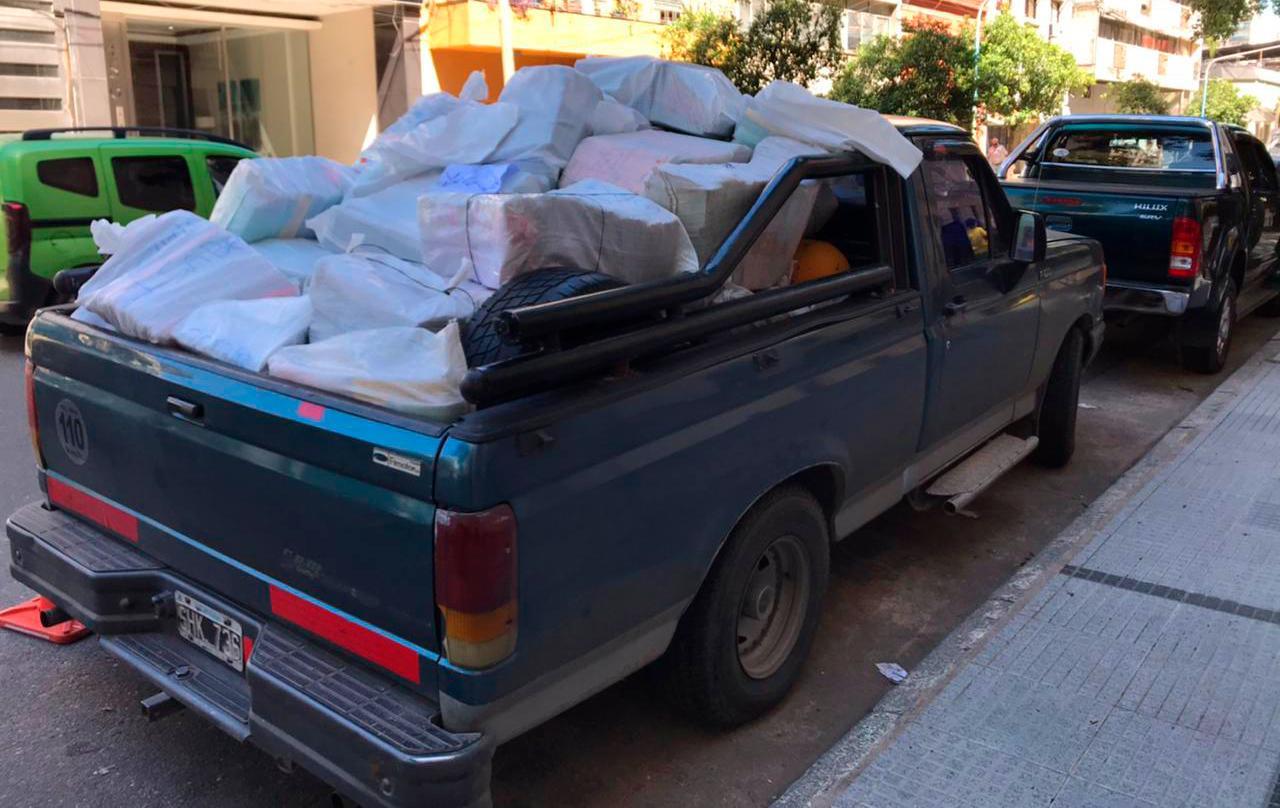 Más de 67.000 kilos de material reciclado permitieron la compra de insumos para personas de escasos recursos