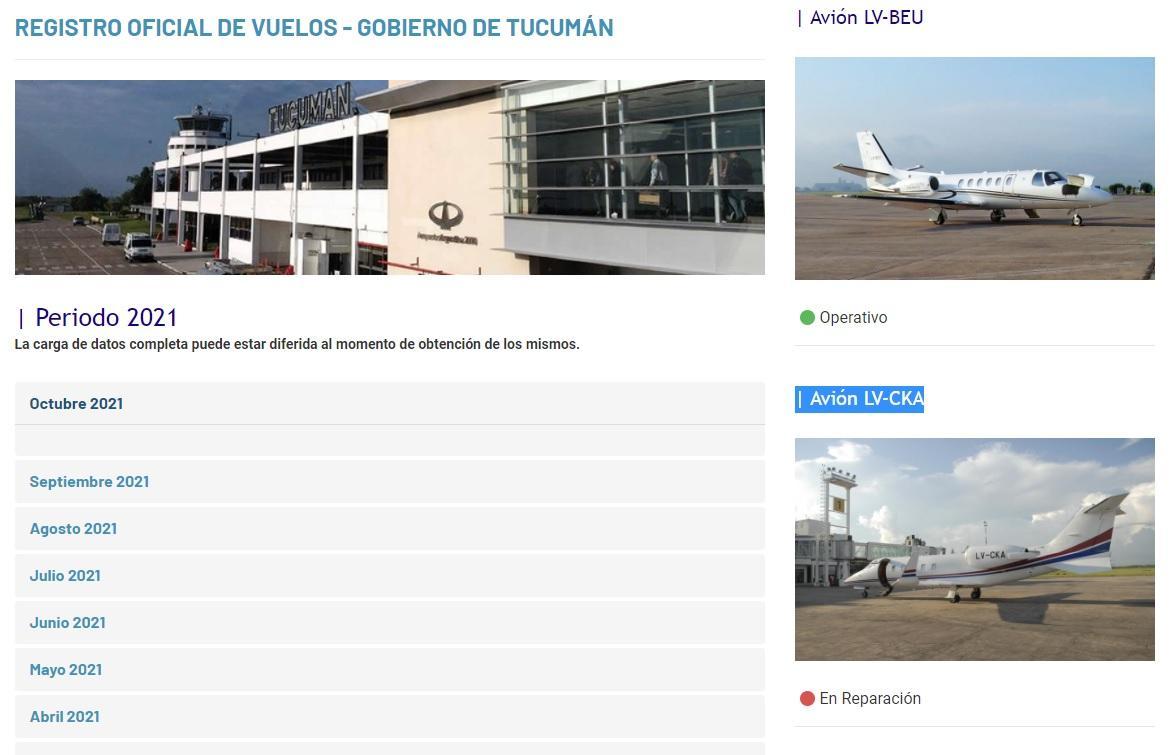 Manzur voló a Estados Unidos en una aeronave del Gobierno de Tucumán