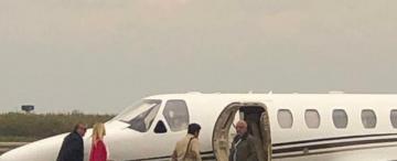 Según una fiscala, los funcionarios están eximidos de explicar para qué usan el avión estatal