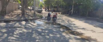 Un accidente de moto generó una batalla campal entre dos familias