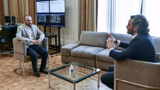 Guzmán y Cafiero se reunieron para repasar avances y la agenda internacional