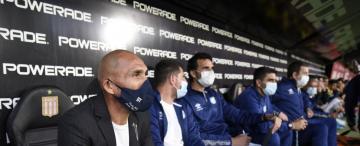 Atlético: Guiñazú, un DT en erupción