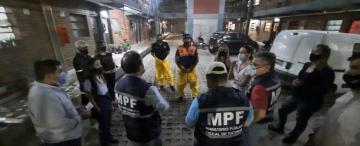 Murió la mujer quemada en Ernesto Padilla al 500